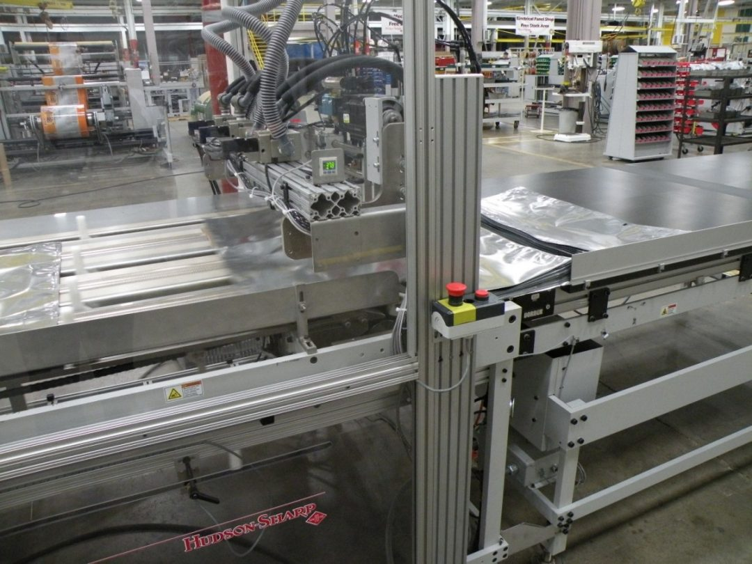 post applied slider machine
